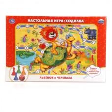 """186767   НАСТОЛЬНАЯ ИГРА-ХОДИЛКА """"УМКА"""" """"ЛЬВЕНОК И"""