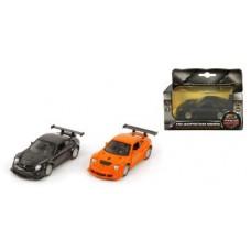 Машина мет. 1:39 Porsche GT3 RSR, откр.двери, цвета в ассорт., 12см