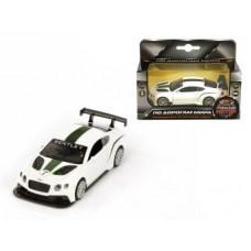 Машина мет. 1:43 Bentley Continental GT3, откр.двери, 12см