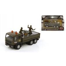 Машина мет. ин. 1:32 Армейский грузовик, свет, зву