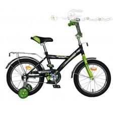"""Велосипед NOVATRACK 14"""", ASTRA чёрный, защита А-ти"""