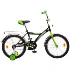 """Велосипед NOVATRACK 18"""", ASTRA чёрный, защита А-ти"""