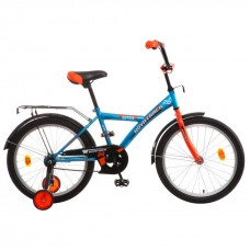 "Велосипед NOVATRACK 18"", ASTRA синий, защита А-тип"