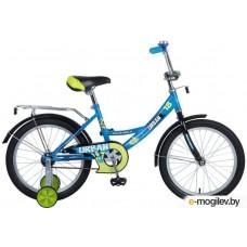 """Велосипед NOVATRACK 18"""", URBAN, синий, тормоз нож."""