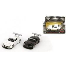 Машина мет. 1:38 BMW Z4 GT3, откр.двери, цвета в ассорт., 11см