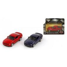 Машина мет. 1:43 Ford Mustang GT, откр.двери, цвета в ассорт., 12см
