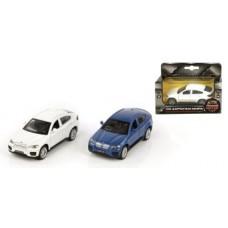 Машина мет. 1:43 BMW X6, откр.двери, цвета в ассорт., 12см