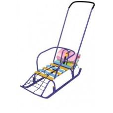 Санки Тимка 7 с багажником цвет в ассорт