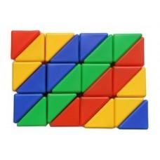 Выдувка. Набор треугольников 24 эл. арт.00903