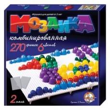 Мозаика d10, d15, d20/6 цв/270 эл/2 поля арт.02002