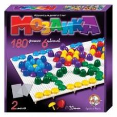 Мозаика d20п/6 цв/180 эл/2 поля арт.02007