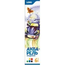 А-042 Акварель медовая, 6 цветов, б/к