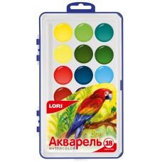 Акв-003 Акварельная краска в пластм уп (большая) 1