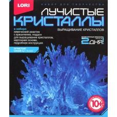 """Лк-002 Лучистые кристаллы """"Синий кристалл"""""""