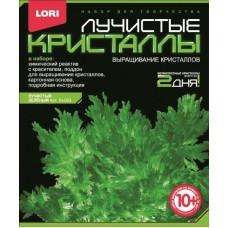 """Лк-003 Лучистые кристаллы """"Зеленый кристалл"""""""