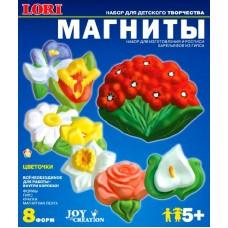 """М-008 Фигурки на магнитах """"Цветочки"""""""