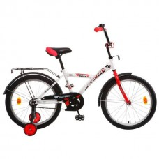 "Велосипед NOVATRACK 14"", ASTRA белый, защита А-тип"