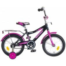"""Велосипед NOVATRACK 14"""", COSMIC, черный, тормоз но"""