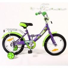 """Велосипед NOVATRACK 14"""", URBAN, фиолетовый, тормоз"""