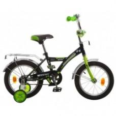 """Велосипед NOVATRACK 12"""", ASTRA, ,чёрный, защита А-"""