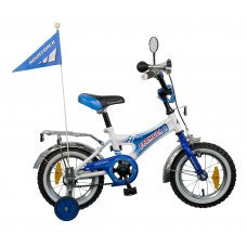 "Велосипед NOVATRACK12"",A, Формула,монокок,син/бел,"