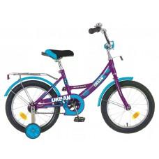 "Велосипед NOVATRACK 14"", URBAN, вишнёвый, тормоз н"