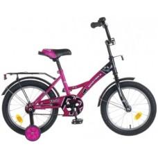 """Велосипед NOVATRACK 12"""", FR-10, фиолетовый, тормоз"""