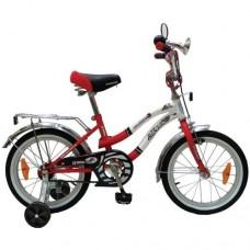 """Велосипед NOVATRACK 16"""",Z, Зебра, красно/белый,тор"""