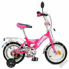 """Велосипед NOVATRACK 12"""",S, Багира, розовый,тормоз"""