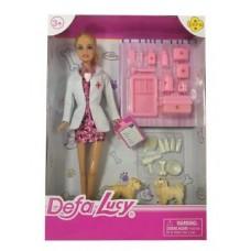 Кукла Defa Lucy Доктор-женщина с аксесс., 23 предм.
