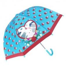 Зонт детский c окошком  Rose Bunny,  46см, коллекц