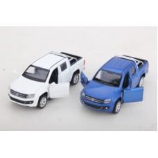 Машина мет. 1:46 Volkswagen Amarok, откр.двери, цвета в ассорт.,12см