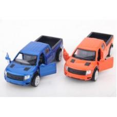 Машина мет. 1:52 Ford F-150 SVT Raptor, откр.двери, цвета в ассорт.,12см
