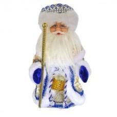 Дед Мороз мех., муз. 30 см, зол.