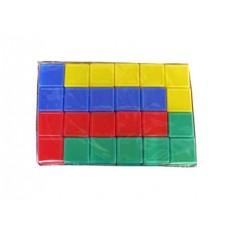 Выдувка. Кубики с бортиком 24 эл (5 см) арт.00926