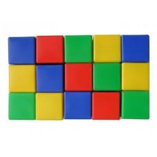 Выдувка. Набор кубиков 15 эл (8 см) арт.00902
