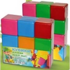 Набор кубиков Большие 12 эл