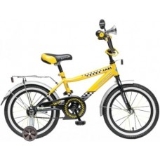 "Велосипед NOVATRACK 16"",R, Такси, черн/жёлт,тормоз"