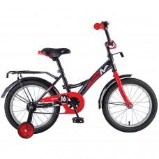 """Велосипед NOVATRACK 16"""", STRIKE, черный-красный, т"""