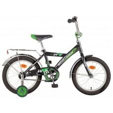 """Велосипед NOVATRACK 12"""" TWIST, черный, тормоз нож,"""