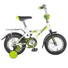 """Велосипед FOXX 12"""", YT, белый, защита А-тип, крыль"""