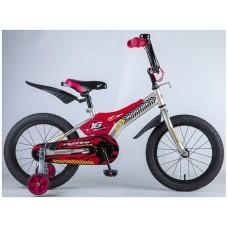 """Велосипед NOVATRACK 16"""" FLIGHTLINE, серый, пластик"""