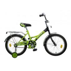 """Велосипед NOVATRACK 18"""", FR-10, зелёный, тормоз но"""