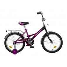 """Велосипед NOVATRACK 18"""", FR-10, фиолетовый, тормоз"""