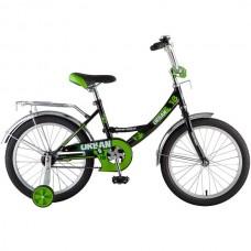 """Велосипед NOVATRACK 18"""", URBAN, чёрный, тормоз нож"""