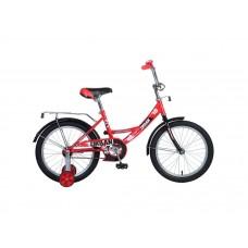 """Велосипед NOVATRACK 18"""", URBAN, красный, тормоз но"""