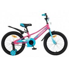 "Велосипед NOVATRACK 18"", VALIANT, фуксия, тормоз н"