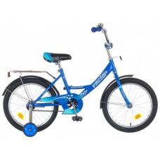 "Велосипед NOVATRACK 18"", Vector, синий, тормоз нож"