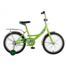 "Велосипед NOVATRACK 18"", Vector, зелёный, тормоз н"