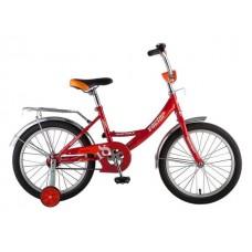 """Велосипед NOVATRACK 18"""", Vector, красный, тормоз н"""